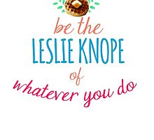 Team Leslie Knope by AuburnWolf