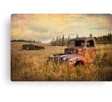 BULLET RIDDLED Canvas Print