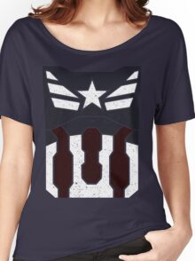American Shield - Distressed Women's Relaxed Fit T-Shirt