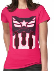 American Shield - Distressed Womens Fitted T-Shirt