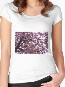 Blossoms High - Edinburgh Scotland Women's Fitted Scoop T-Shirt