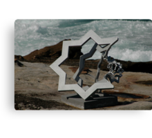Star Of David @ Sculptures By The Sea Canvas Print