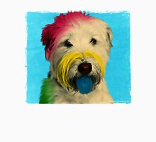 Colorful Pop Art Poodle who Looks Like Albert Einstein  Unisex T-Shirt