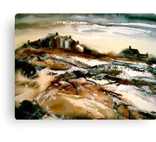 Winter in Hardy Country Canvas Print