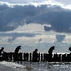 north sea silhouettes by Sandy Maya Matzen
