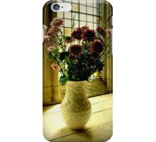 Flowered Window Light Raphoe, Donegal, Ireland iPhone Case/Skin
