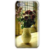 Flowered Window Light Raphoe, Donegal, Ireland iPhone Case/Skin