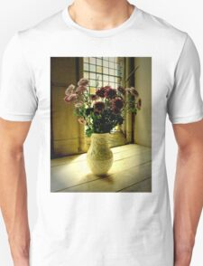 Flowered Window Light Raphoe, Donegal, Ireland T-Shirt