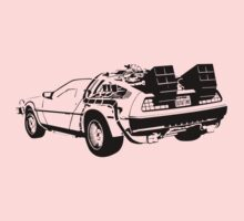 Back to the Future - Delorean Kids Tee