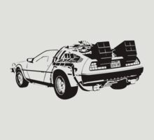 Back to the Future - Delorean by Hoodoo Operator