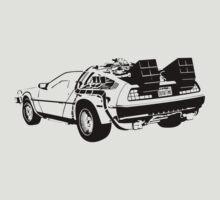 Back to the Future - Delorean T-Shirt