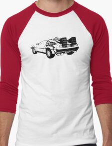 Back to the Future - Delorean Men's Baseball ¾ T-Shirt