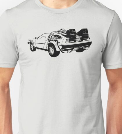 Back to the Future - Delorean Unisex T-Shirt