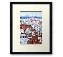 Winter Marvel Framed Print