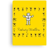 I LOVE SKATEBOARD - Rodney Mullen Canvas Print