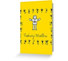 I LOVE SKATEBOARD - Rodney Mullen Greeting Card