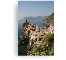 Vernazza - Cinque Terre, Italy Canvas Print