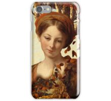 The Great Threshold of Bronze iPhone Case/Skin