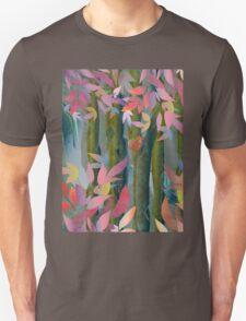 Autumn by a Waterfall Unisex T-Shirt