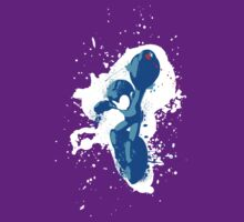 Mega Man Splattery Shirt or Hoodie - Any Color T-Shirt