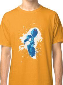 Mega Man Splattery Shirt or Hoodie - Any Color Classic T-Shirt