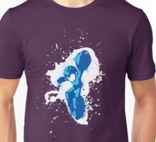 Mega Man Splattery Shirt or Hoodie - Any Color Unisex T-Shirt