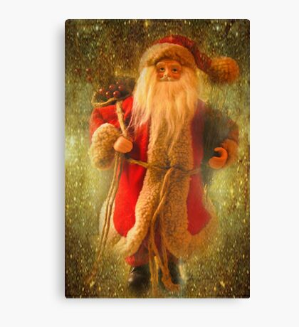 Jolly Ole' Saint Nicholas Canvas Print