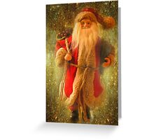 Jolly Ole' Saint Nicholas Greeting Card