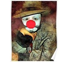 Sad Clown Poster