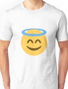 Smiling face with halo emoji Unisex T-Shirt