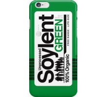 Contents: Unprocessed Soylent Green iPhone Case/Skin