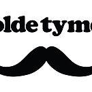 Olde Tyme 'Stache by heavenlygeekdom