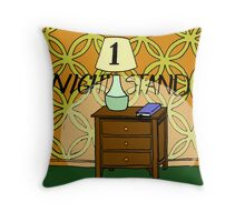 1 Nightstand Throw Pillow