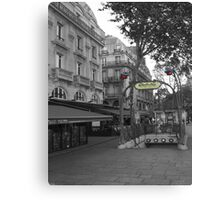 The Paris Metro Canvas Print
