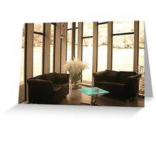 Avenham Cafe Lounge Greeting Card