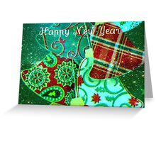 Bells are ringing, proclaiming the coming of a happy 2012! Greeting Card