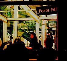 PARIS AIRPORT, PORTE F45 by REKHA Iyern [Fe] Records Canada