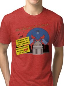 Things I Learned from B-Movies #4 Tri-blend T-Shirt