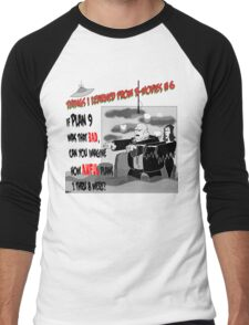 Things I Learned from B-Movies #6 Men's Baseball ¾ T-Shirt