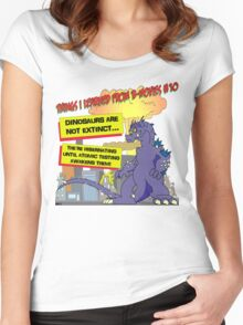 Things I Learned from B-Movies #10 Women's Fitted Scoop T-Shirt