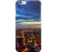 A City Ablaze - Jersey City, New Jersey iPhone Case/Skin