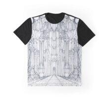 Barad-Dur Gate Study Graphic T-Shirt