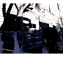 Walk By Photographic Print