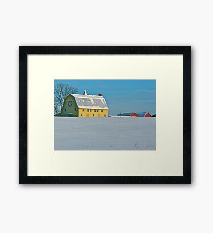 Farley Vale Barn Framed Print