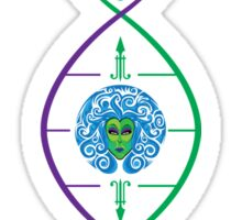 My Haunted Mansion DNA by Topher Adam Sticker