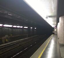 UBahn, Train Station by Jord12