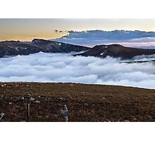 Above Clouds Photographic Print