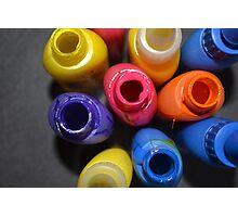 Neon Plastic  Photographic Print