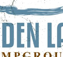 Reiden Lake Campground Sticker