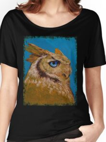 Great Horned Owl Women's Relaxed Fit T-Shirt